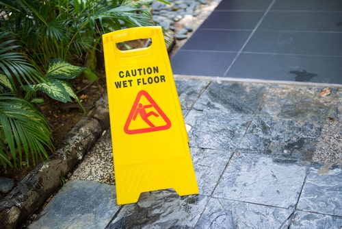 Valid Slip and Fall Claim