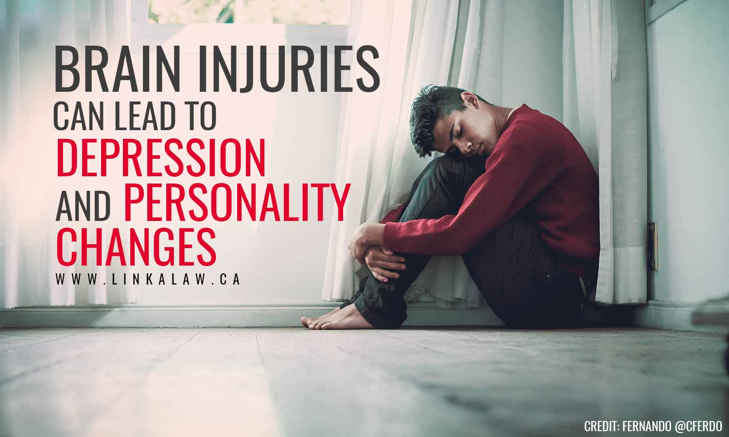 injury can lead to depression