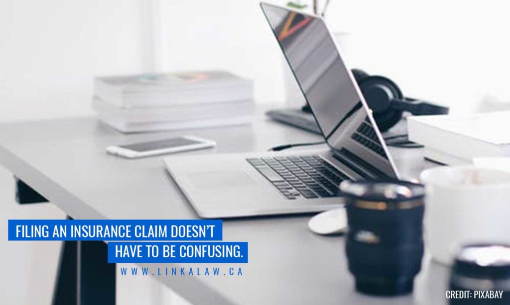 Filing an insurance claim doesn't have to be confusing.