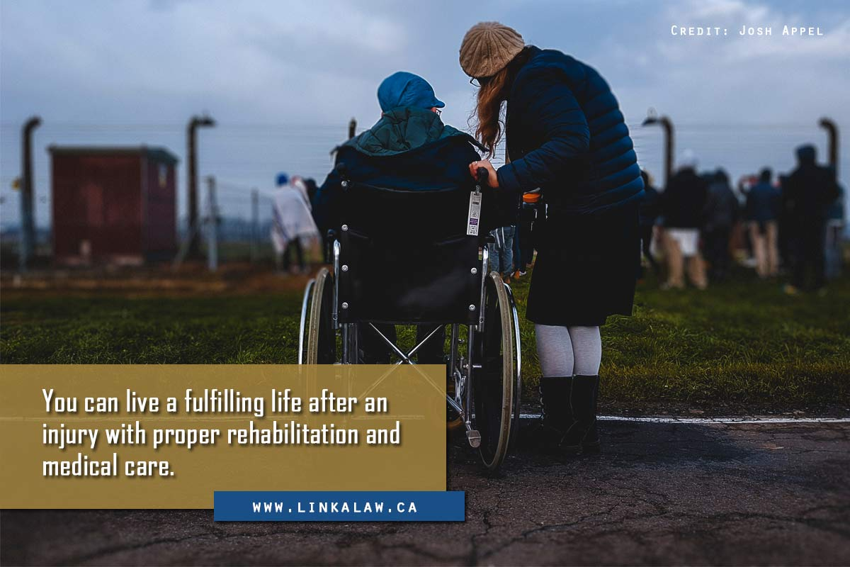 You can live a fulfilling life after an injury with proper rehabilitation and medical care