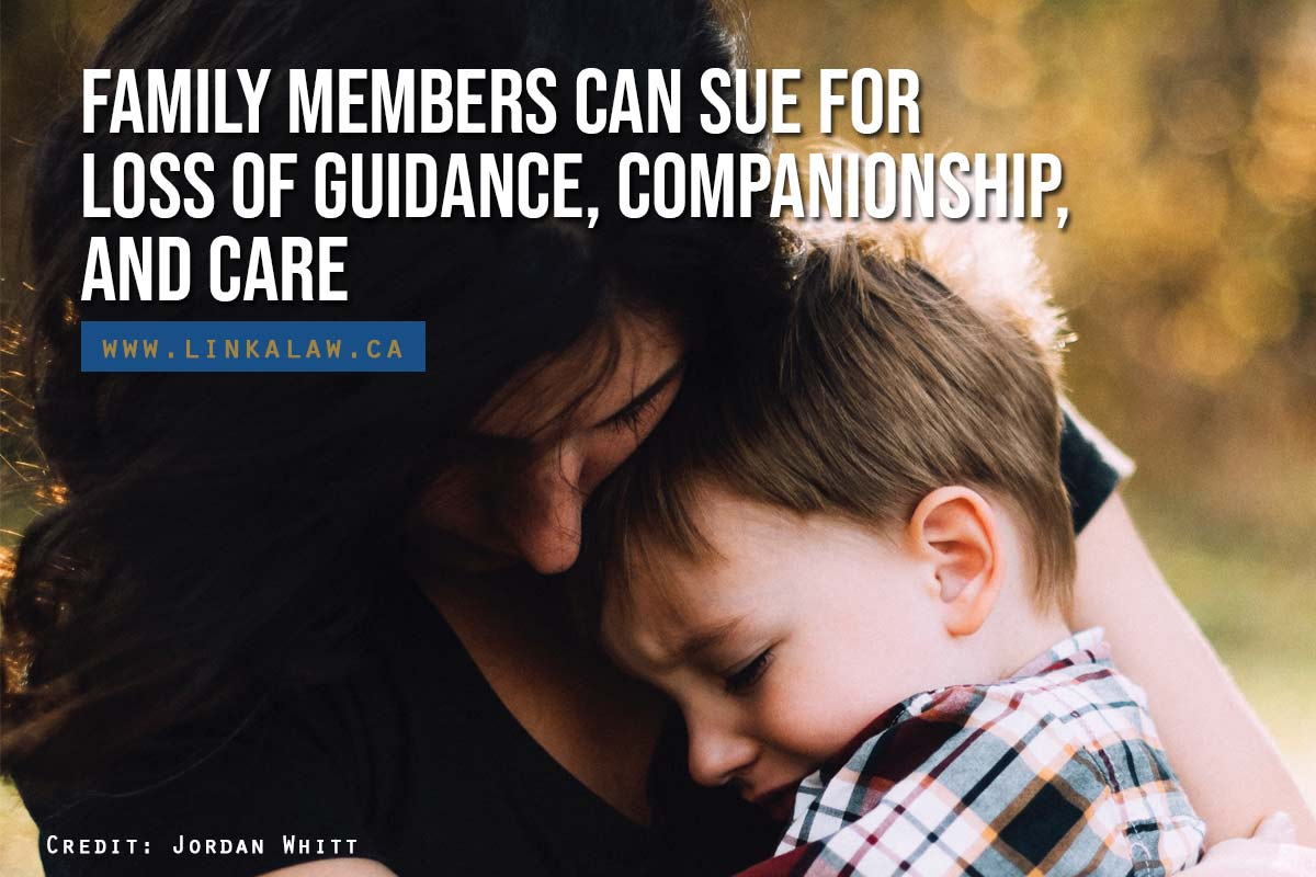 Family members can sue for loss of guidance, companionship, and care