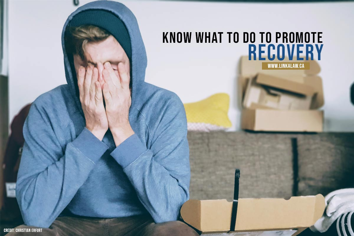 Know what to do to promote recovery