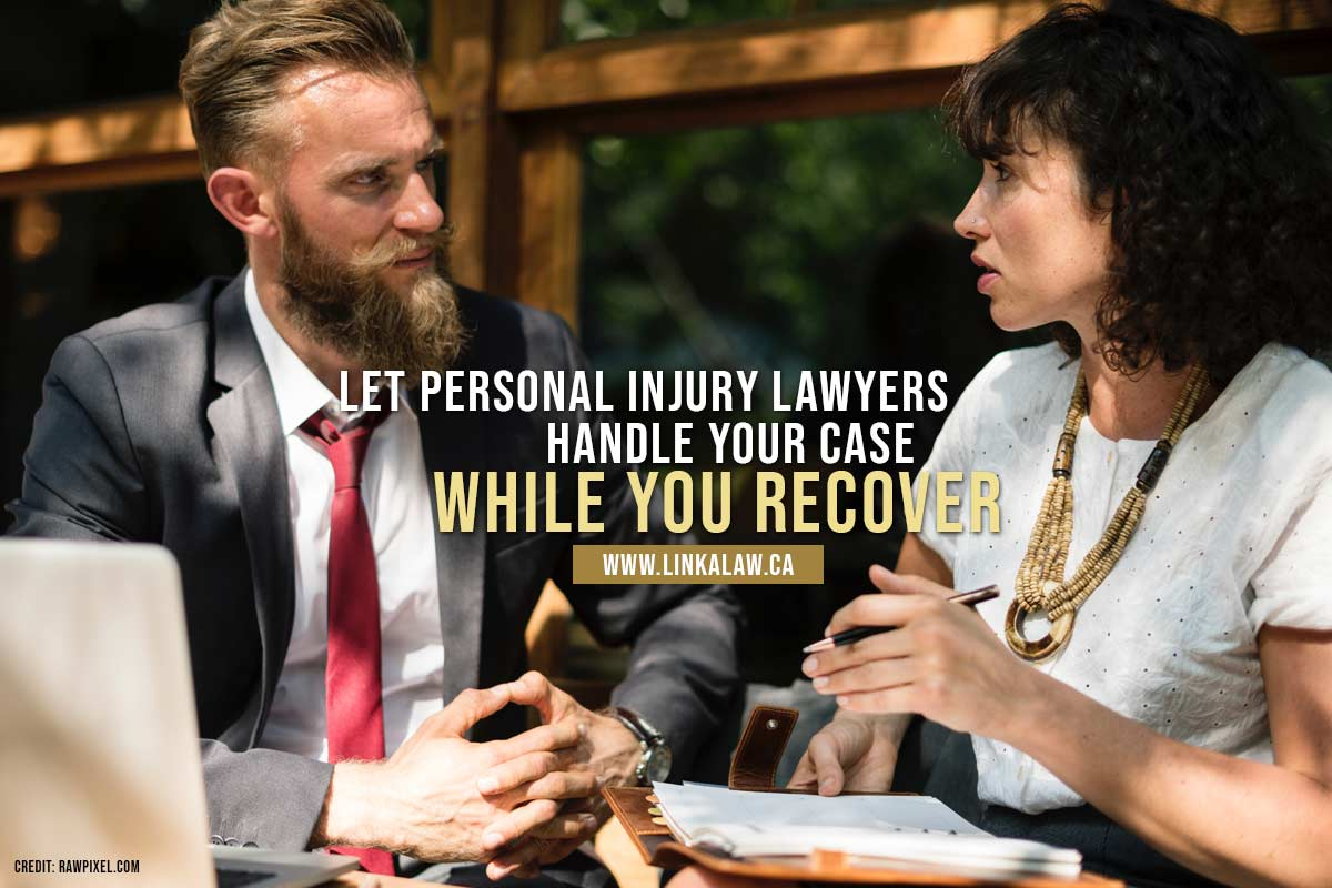 Let personal injury lawyers handle your case while you recover
