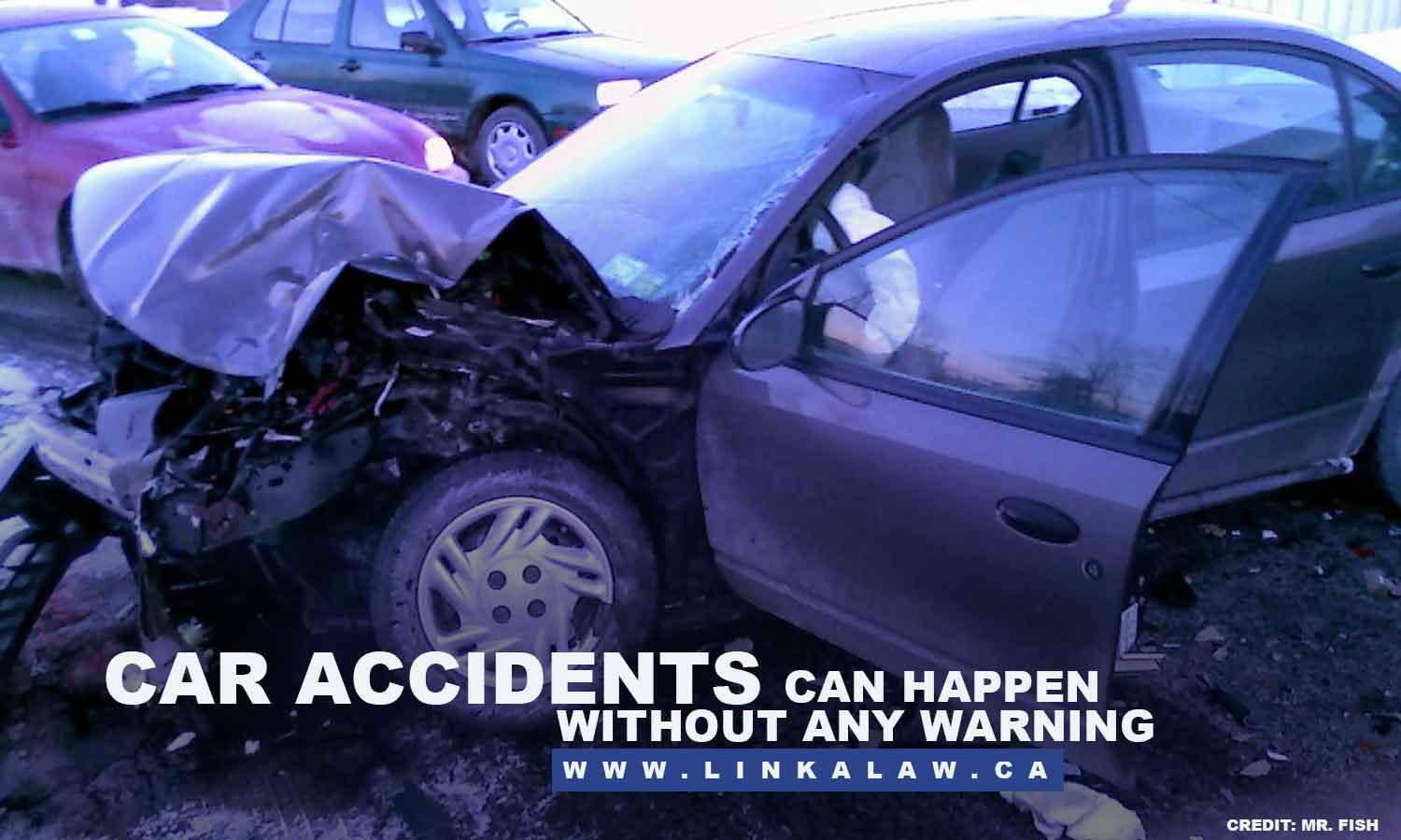 Car accidents can happen without any warning