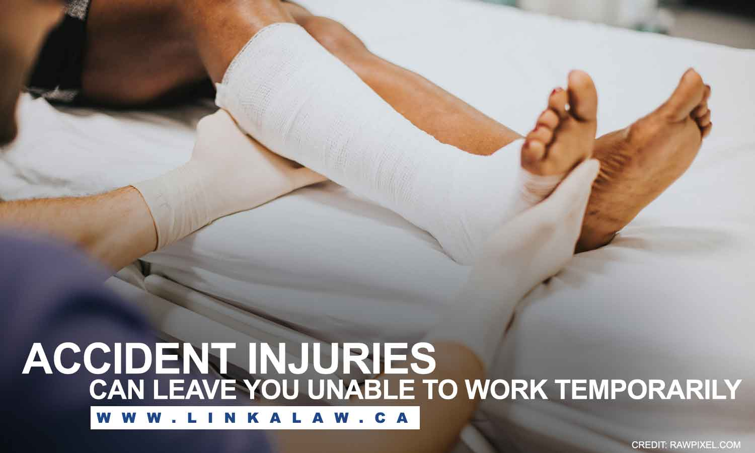 Accident injuries can leave you unable to work temporarily