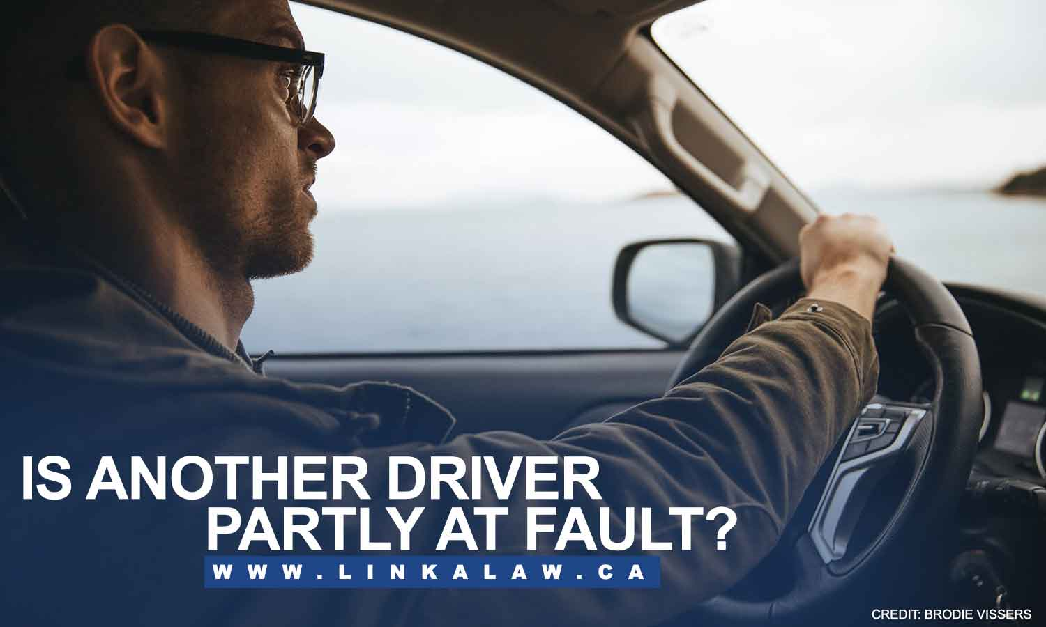 Is another driver partly at fault?