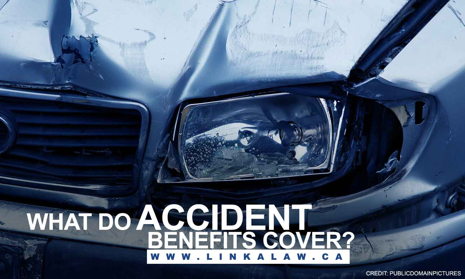 What do accident benefits cover?