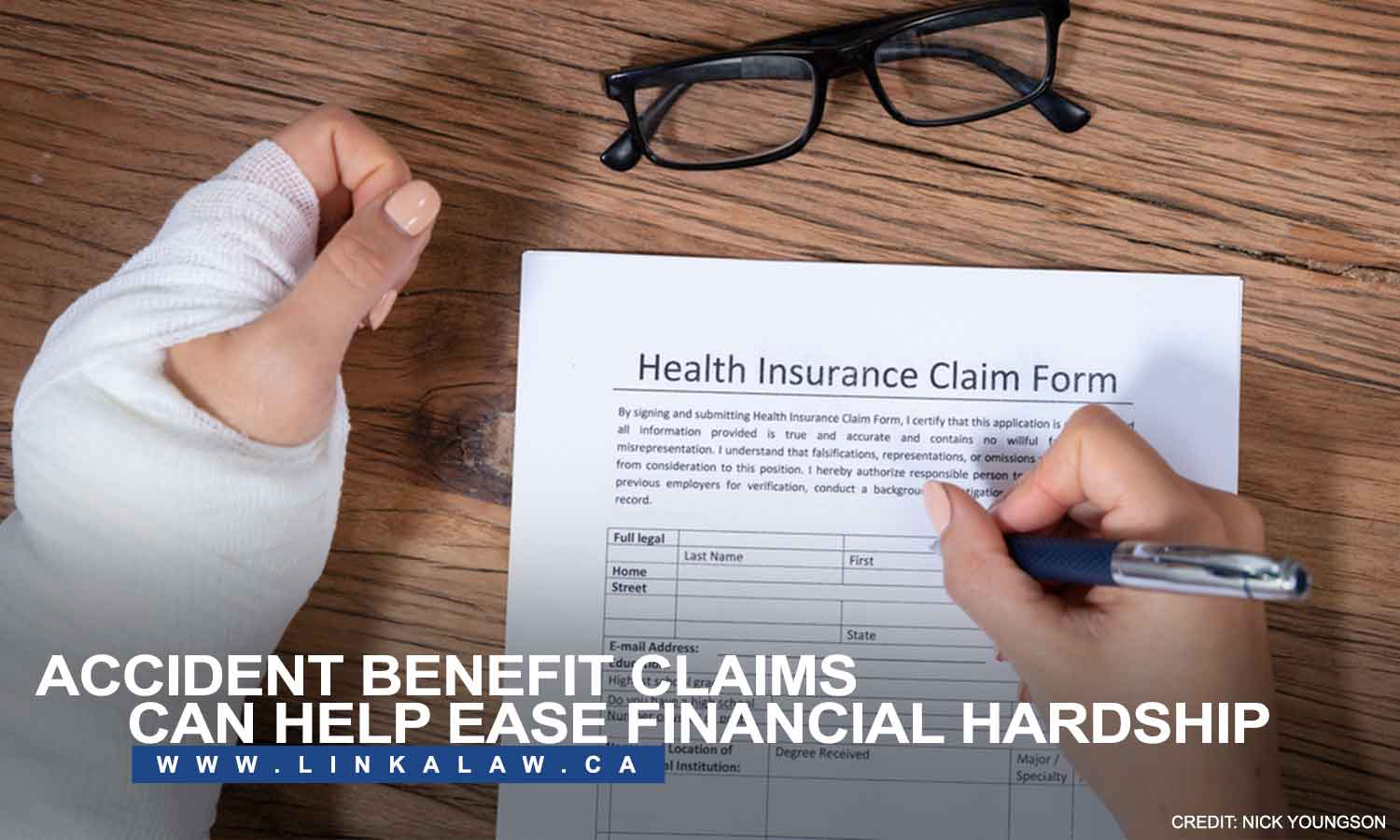 Accident benefit claims can help ease financial hardship