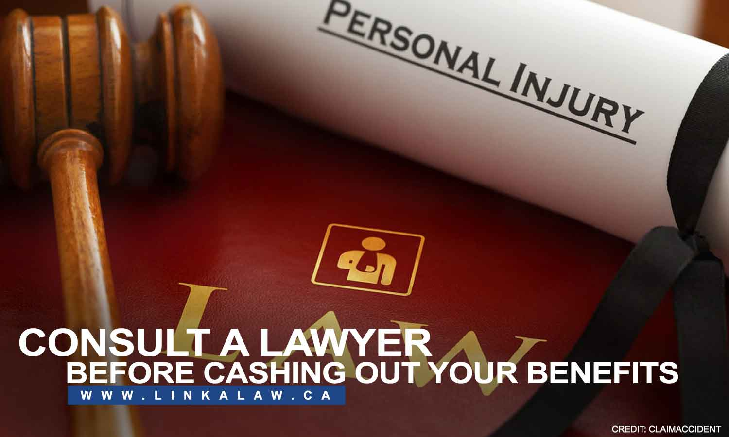 Consult a lawyer before cashing out your benefits