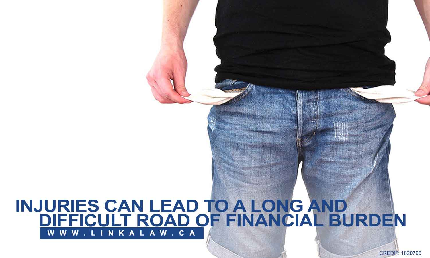 Injuries can lead to a long and difficult road of financial burden