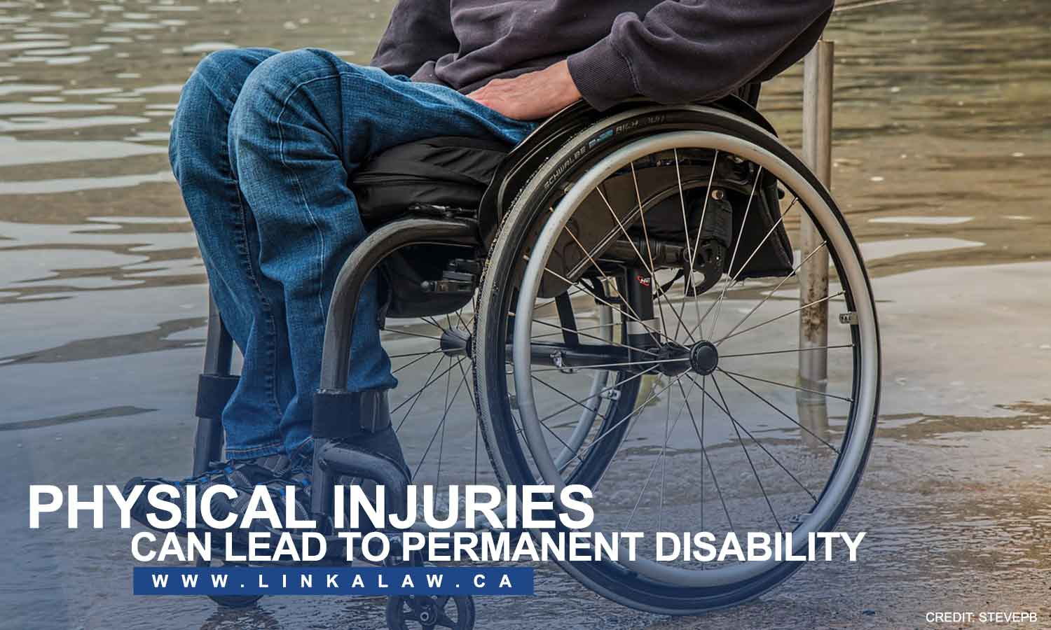 Physical injuries can lead to permanent disability