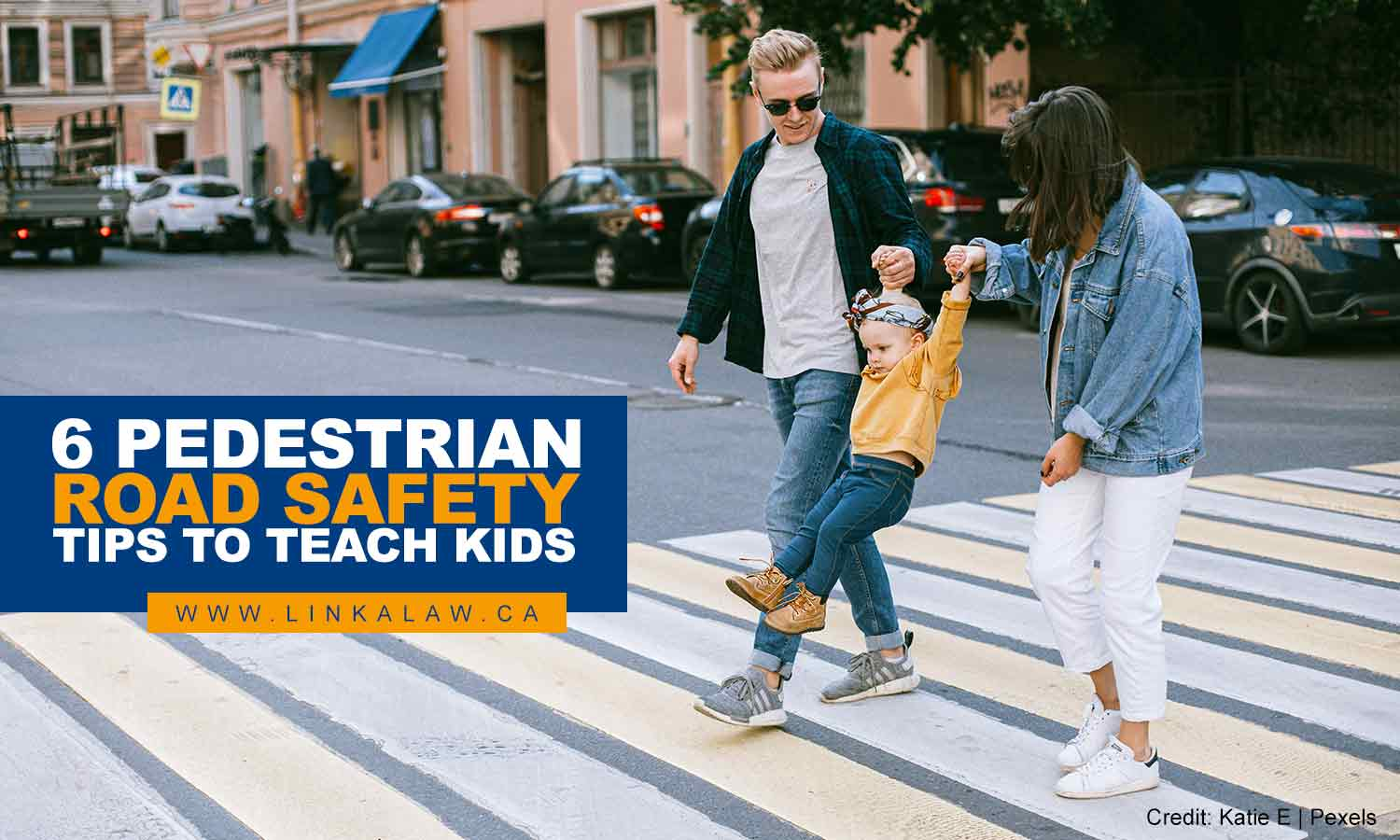 6 Pedestrian Road Safety Tips to Teach Kids