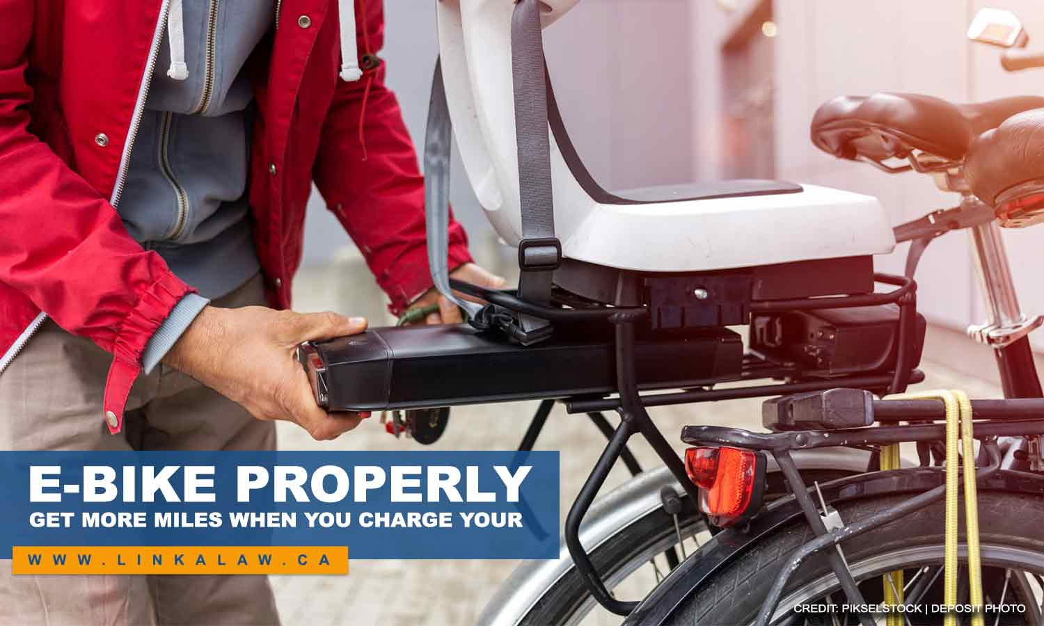 Get more miles when you charge your e-bike properly