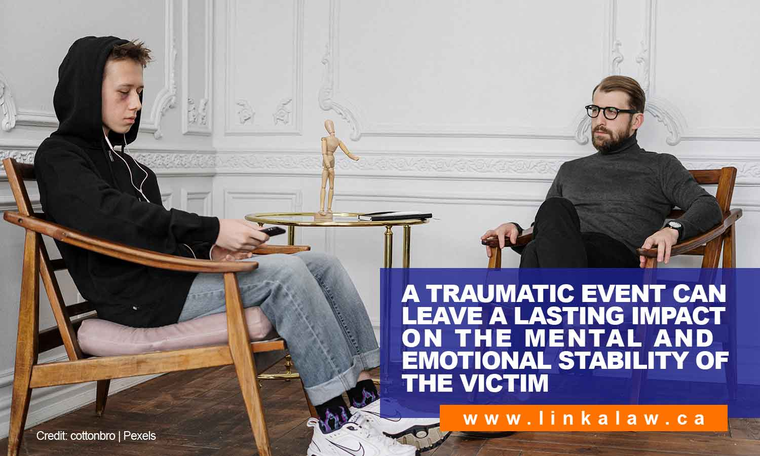 A traumatic event can leave a lasting impact on the mental and emotional