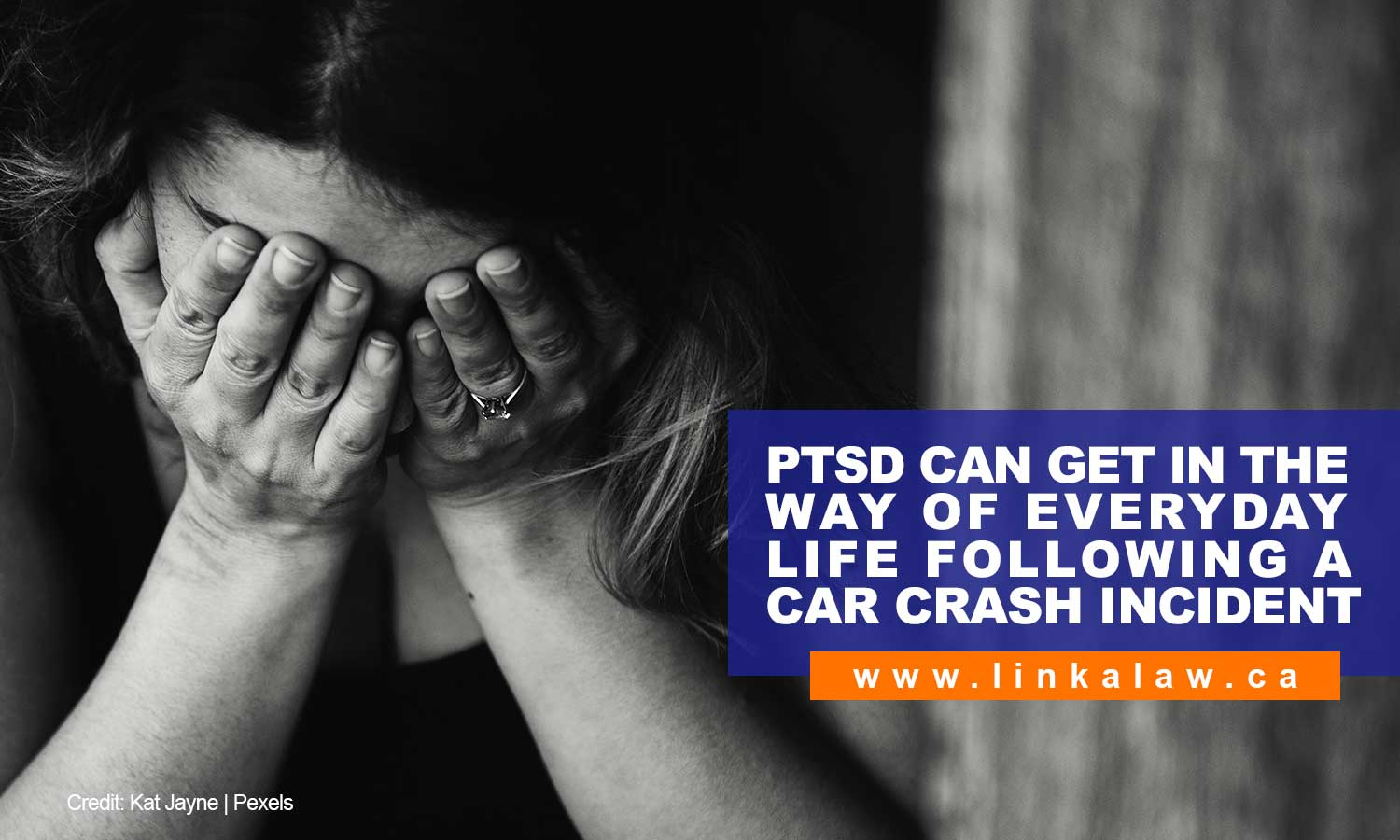 PTSD can get in the way of everyday life following a car crash incident