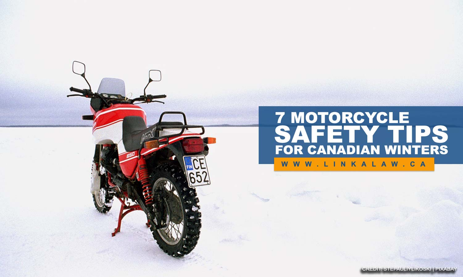 7 Motorcycle Safety Tips for Canadian Winters