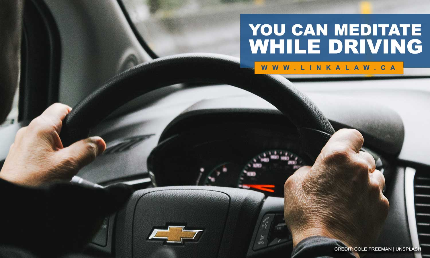 You can meditate while driving
