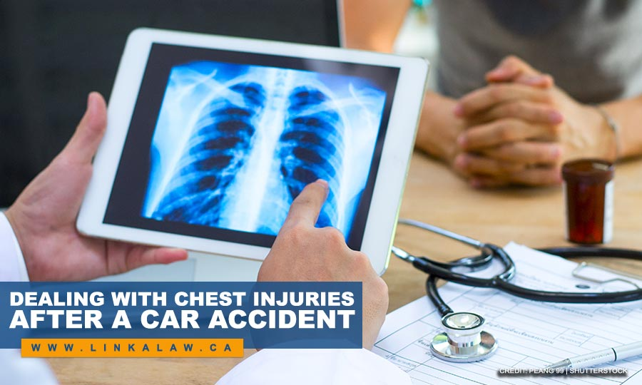 Dealing With Chest Injuries After a Car Accident