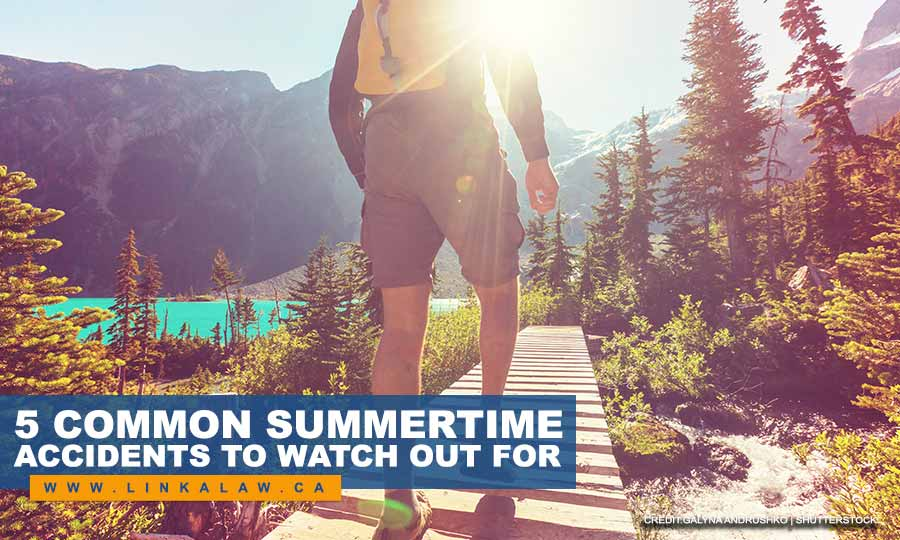 5 Common Summertime Accidents to Watch out For